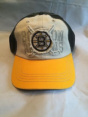 NHL Boston Bruins Old Time Hockey Adjustable Hat
