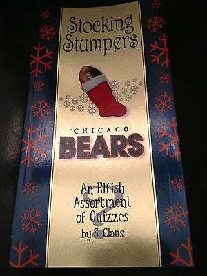 "NFL Chicago Bears ""Stocking Stumpers"" Book"