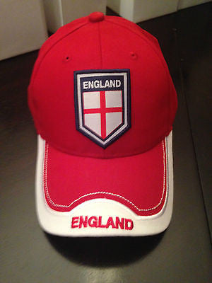 England World Cup FIFA Soccer Strapback Hat