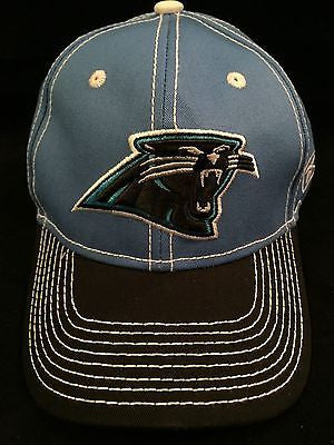 NFL Carolina Panthers Adult Reebok Adjustable Velcro Hat