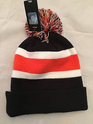NFL Chicago Bears Adult Cuffed Winter Knit Hat with Pom – MancavesOnline 2982b2cacbd