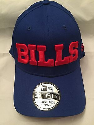 NFL Buffalo Bills New Era 3930 M/L Flex Fit Hat