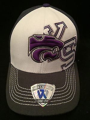 buy popular 157db 8876a ... new style ncaa kansas state wildcats adult top of the world flex fit hat  99b02 5fd4a