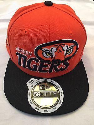NCAA Auburn University Tigers Youth 6 5/8 New Era 5950 Fitted Hat