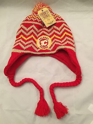 510f9147b41 NHL Calgary Flames American Needle Winter Hat
