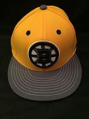 NHL Boston Bruins Reebok Fitted S/M Hat