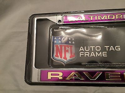 NFL Baltimore Ravens License Plate Cover