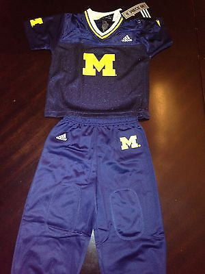 NCAA University of Michigan Toddler Jersey Pant Set - 12M