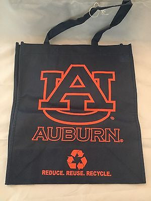 NCAA Auburn University Tigers Reusable Tote Bag