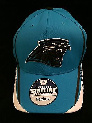 NFL Carolina Panthers Adult Reebok L/XL Flex Fit Hat
