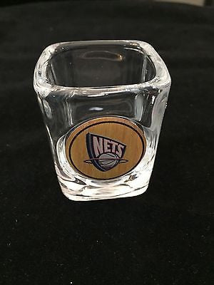 NBA Brooklyn Nets Clear Shot Glass