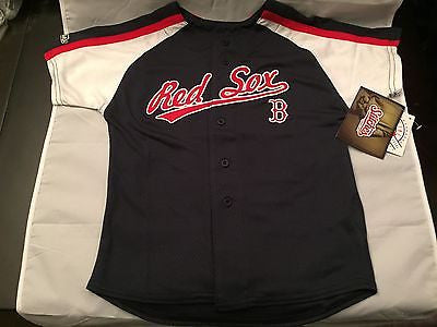 MLB Boston Red Sox Youth Size 4 Stitches Jersey