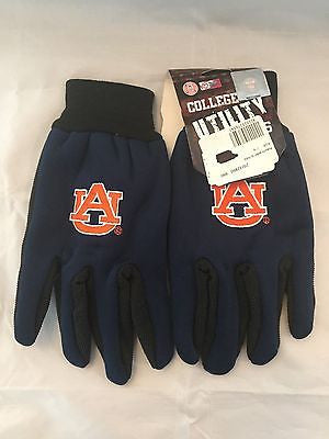 NCAA Auburn University Tigers Utility Gloves