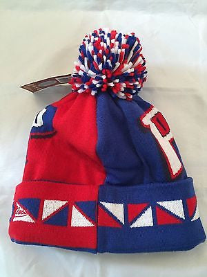 NBA Detroit Pistons Adult Winter Hat with Pom – MancavesOnline 1c9f430e5c5