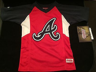 MLB Atlanta Braves Youth Size 4 Stitches Jersey