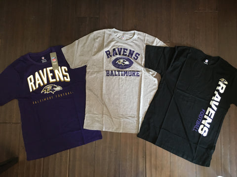 NFL Baltimore Ravens Youth Replen T-Shirt Set