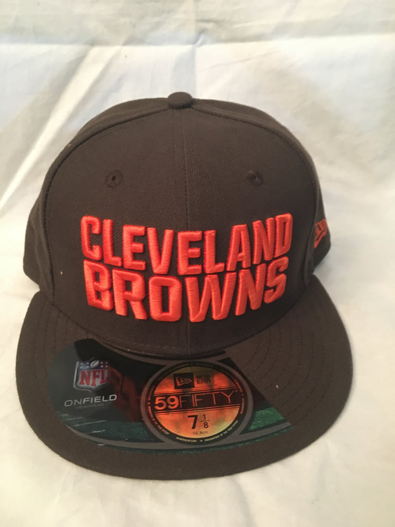 NFL Cleveland Browns On Field Fitted Hat