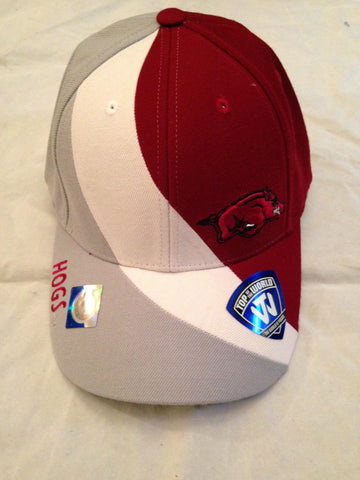 NCAA Arkansas Razorbacks Men's Slashed Hat