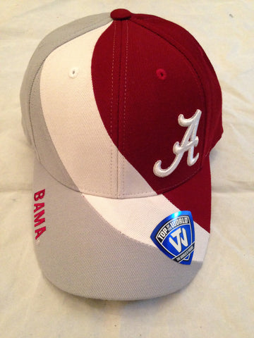 NCAA Alabama Crimson Tide Slashed Hat