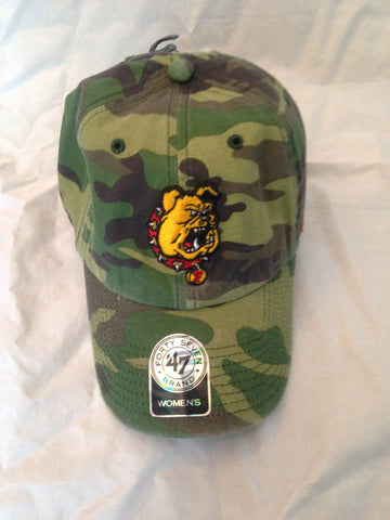 NCAA Ferris State University Bulldogs Women's Fashion Clean Up Camo Hat