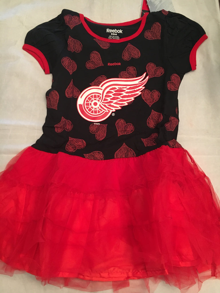 NHL Detroit Red Wings Girls Tutu Flyer Dress