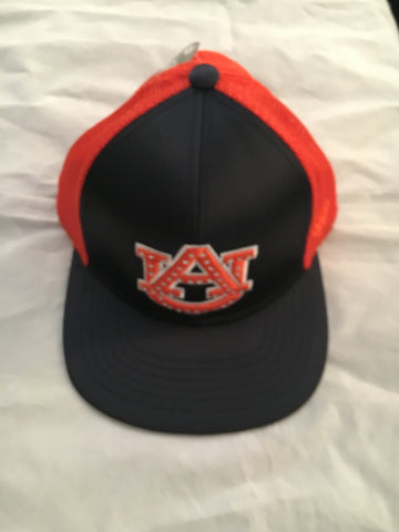 NCAA Auburn Tigers Women's Big Satin Snap Back Hat