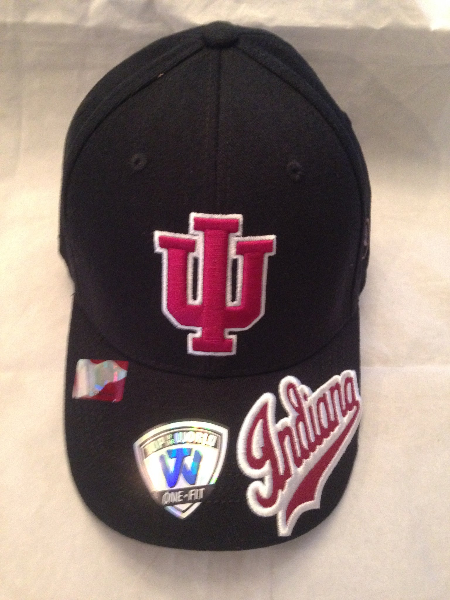 in stock 46f17 1979a NCAA Indiana University Hoosiers Stride Black Stretch Fit Hat –  MancavesOnline