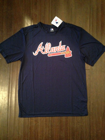 MLB Atlanta Braves Men's Polyester Logo T-Shirt