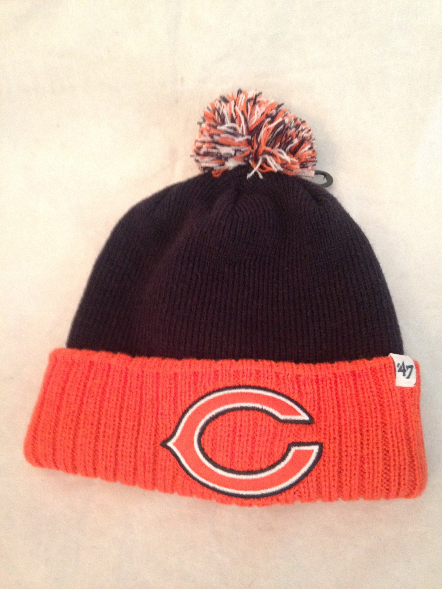 0d7b91d50 NFL Chicago Bears Youth Dunston Cuff Knit Winter Hat