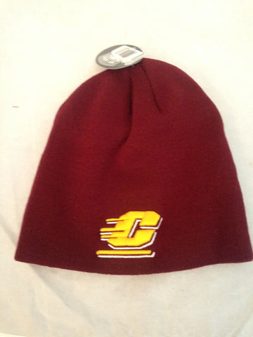 NCAA Central Michigan University EZ Dozit Knit Hat