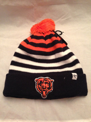 e22137d8d7560 NFL Chicago Bears Youth Cuff Knit Winter Hat