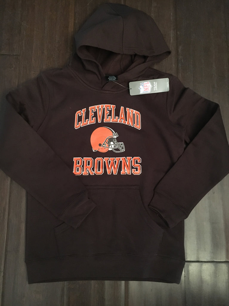 NFL Cleveland Browns Youth Promo Fleece Hooded Sweatshirt