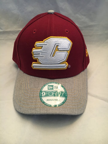 NCAA Central Michigan Chippewas Velcro Fit Hat