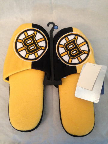 NHL Boston Bruins Men's Slippers