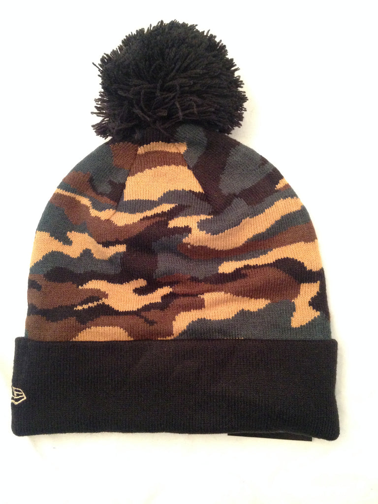 NFL Chicago Bears Camo Winter Knit Hat with Pom – MancavesOnline e16368a47