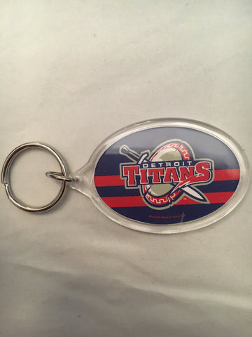 NCAA Detroit Mercy Titans Tier Acrylic Key Ring
