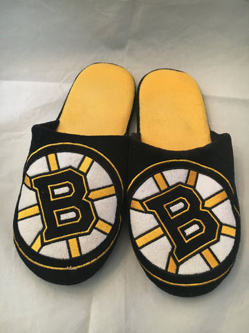 NHL Boston Bruins Big Logo House Slippers