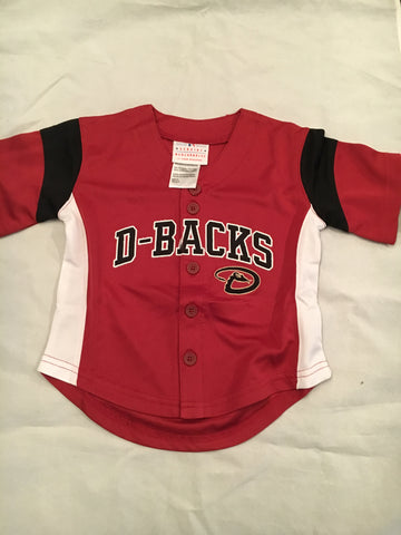MLB Arizona Diamondbacks Toddler Button Up Jersey