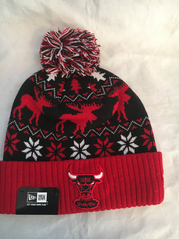 NBA Chicago Bulls Throwback Chill Winter Hat