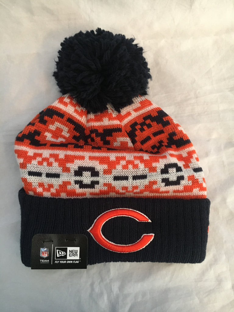 NFL Chicago Bears Throwback Chill Winter Hat