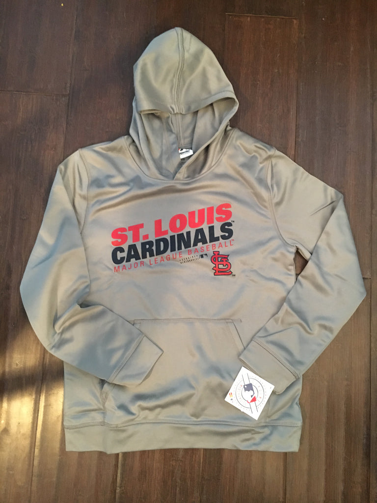 hot sale online b9bb4 8a0c0 MLB St. Louis Cardinals Youth Performance Hoodie