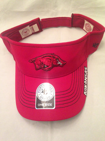 "NCAA Arkansas Razorbacks ""Dark Twig"" Visor"