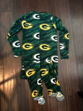 NFL Green Bay Packers Union Suit Pajamas