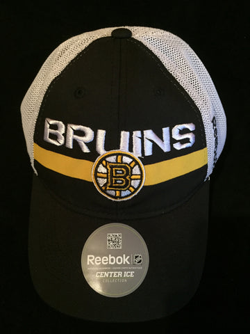 NHL Boston Bruins Player Mesh Slouch Flex Fit Hat