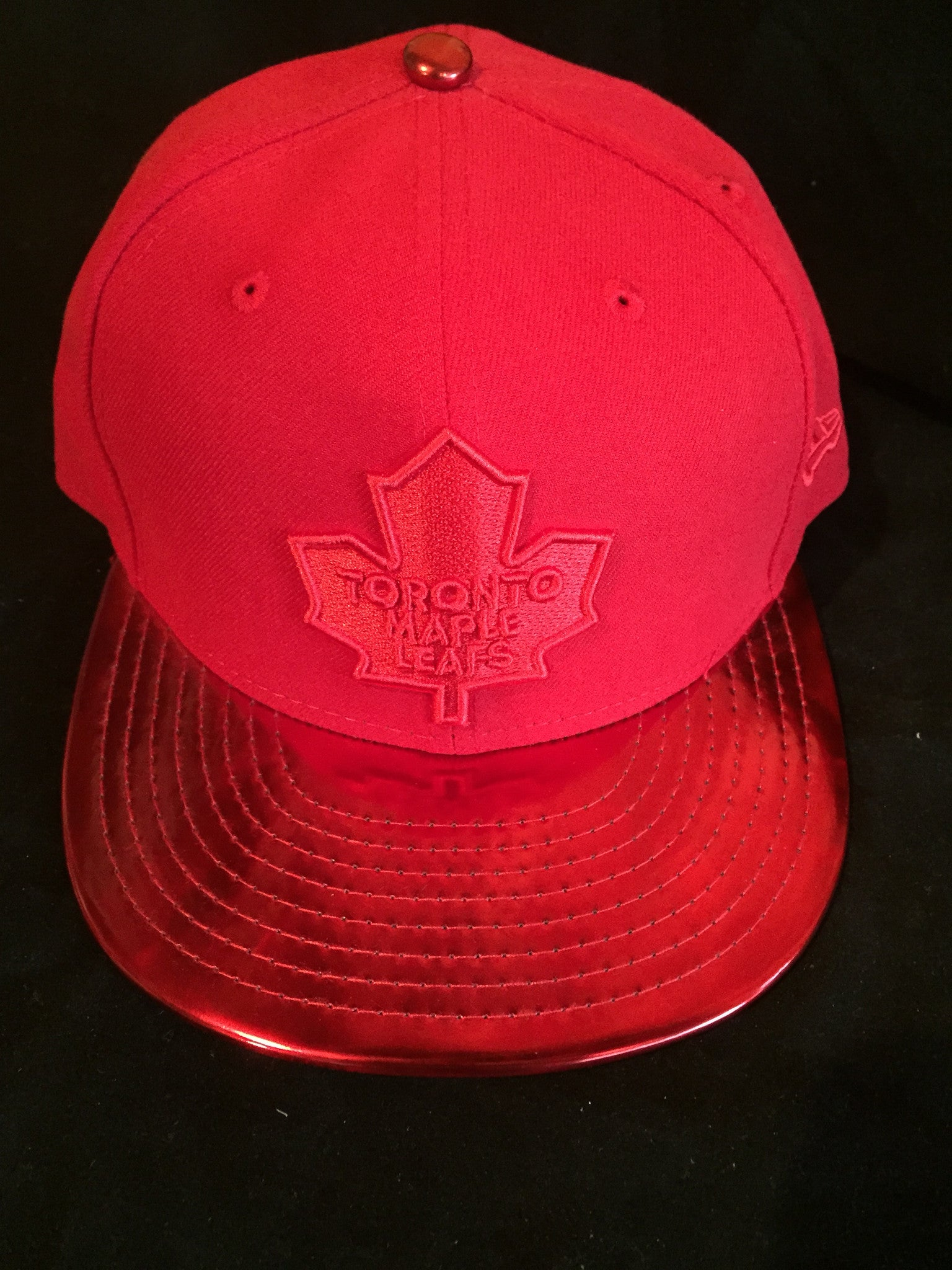 best website 91389 8db9f ... shop nhl toronto maple leafs meddled fitted hat 27851 b7531