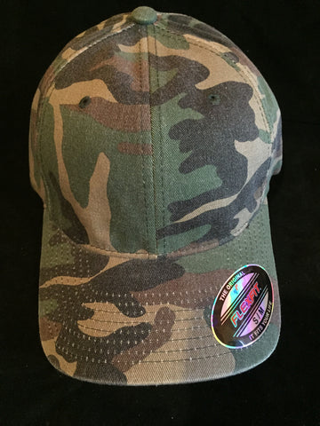 "Camoflauge ""Home Run"" Small/Medium Flex Fit Hat"