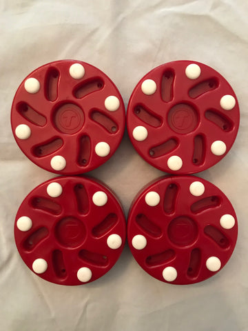 Tron S10 Inline Hockey Pucks Set of 4