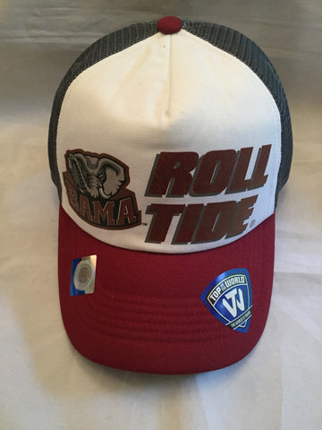 "NCAA Alabama Crimson Tide ""Spittin Foam"" Roll Tide Snapback Trucker Hat"