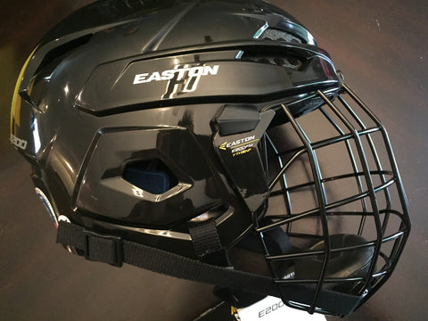Easton Hockey Helmet - E200 Combo Youth Hockey Helmet Size 6 - 6 1/2