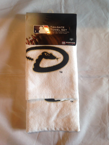 MLB Arizona Diamondbacks Fan Tailgate Towel Set